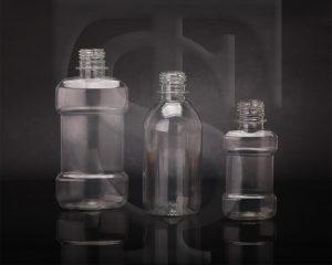 انواع بطری های دهانشویه و شربت
