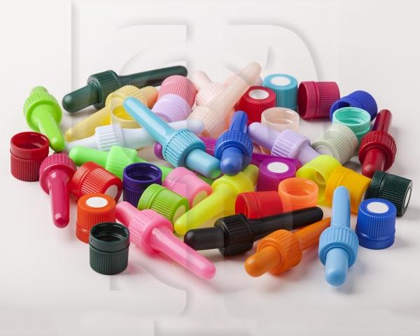 انواع قطره چکان به رنگها و سایزهای سفارشی