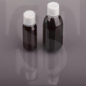 بطری های پت دارویی به همراه کپ ۲۸ فوم دار