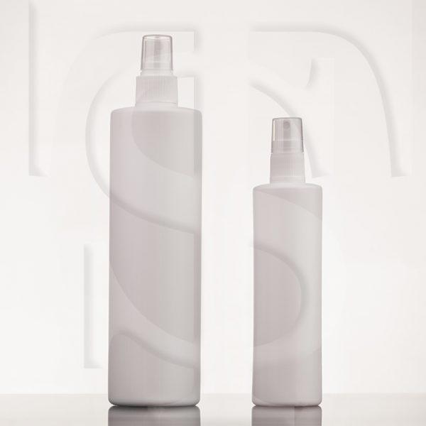 بطری ۲۰۰ و ۴۵۰ سی سی پلی اتیلنی به همراه پمپ اسپری