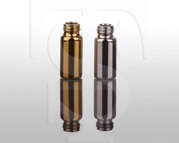 ویال متالایز طلایی و نقره ایی در ابعاد کوچک و بزرگ - شفاگستران