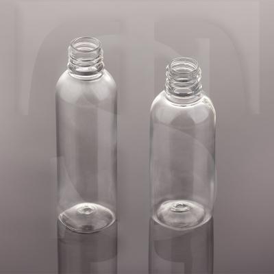 بطری پت استوانه 60 سی سی و 120 سی سی