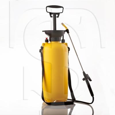 ظرف پلی اتیلنی سمپاش صنعتی ۸ (هشت) لیتری - شفاگستران مهر رضا